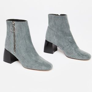 Free People Corduroy Ariel Ankle Boot